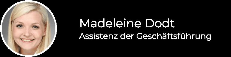Madeleine Dodt-footer